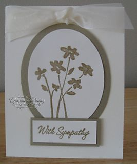 Sympathy Gold Embossed