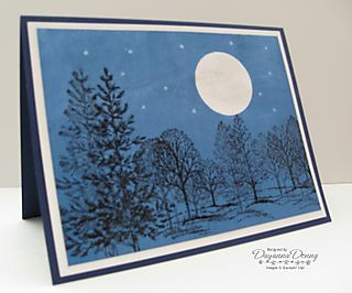 Lovely as a Tree Midnight Sky