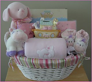 Baby Basket - Girl Large