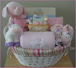Baby Basket - Girl Large