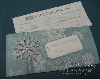 Gift Card Holder BB and GC