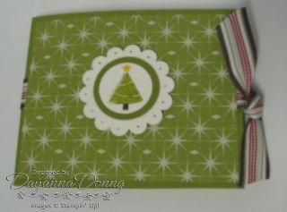 Gift Card Holder Xmas