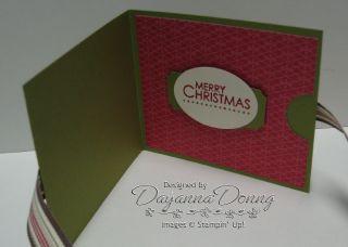 Gift Card Holder Inside