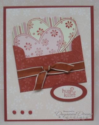 Love You Much Envelope card