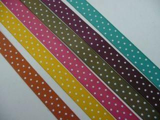 2009 In Color Polka Dot Ribbon