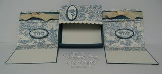 Desk Organizer - Note Cards 2 Organizer and Envelopes
