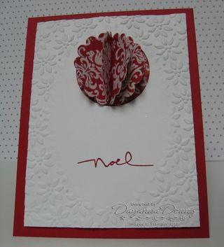 Christmas Cocoa Scallop Cardfv
