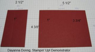 Gift Card Measurements