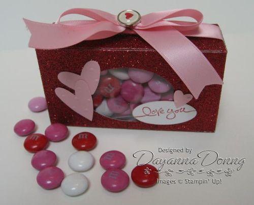 Valentine Box Red Glimmer