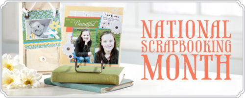 National Scrapbook Month