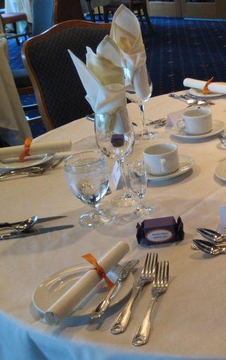 RVYC Table setting