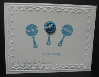 Button Buddies Marina Baby
