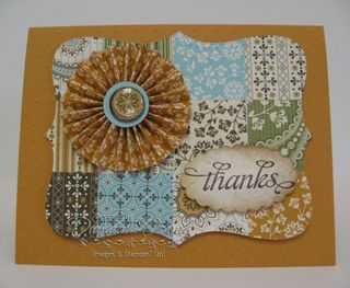 Spice Cake Mustard Top Note Quilt
