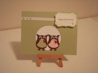 Anniversary card Pam