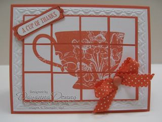 Calypso Tea Cup Faux Tile