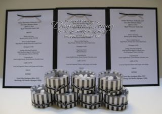 Black & White Cylinders and Menus