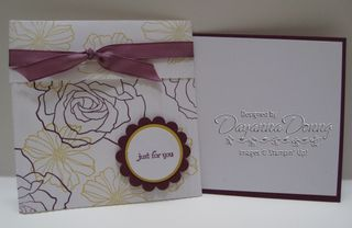 Fifth Avenue Floral Crimped Envelope